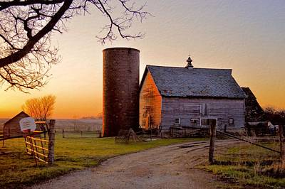 Spring At Birch Barn Poster by Bonfire Photography