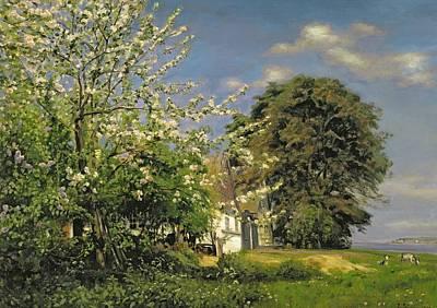 Spring Blossom Poster by Christian Zacho