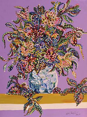 Spring Bouquet  Poster by Erika Pochybova