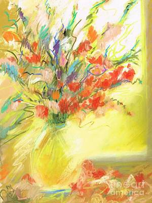 Spring Bouquet Poster by Frances Marino