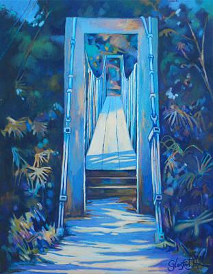 Spring Bridge I Poster