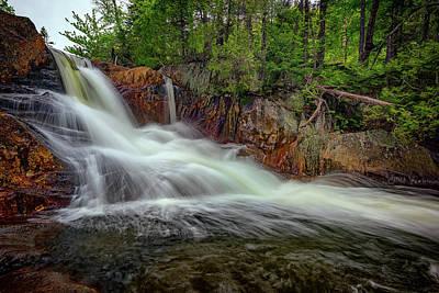 Spring Flow At Smalls Falls Poster by Rick Berk