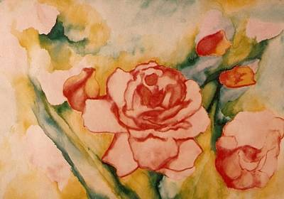 Spring Garden Poster by Jordana Sands