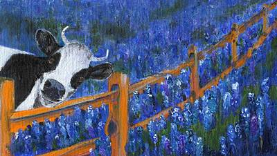 Poster featuring the painting Spring Has Sprung by Jamie Frier