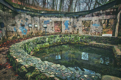 Spring House 2 - Paradise Springs - Kettle Moraine State Forest Poster by Jennifer Rondinelli Reilly - Fine Art Photography