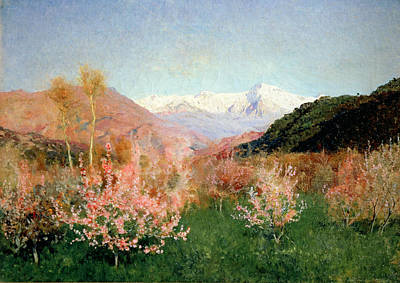 Spring In Italy Poster by Isaak Ilyich Levitan