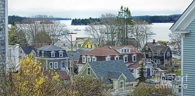 Spring In Maine, Stonington Poster