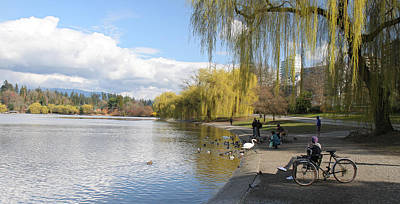 Spring Is In The Air  Stanley Park Vancouver Poster by Pierre Leclerc Photography