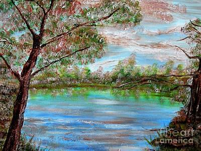 Spring On Arkansas' Greer's Ferry Lake Poster