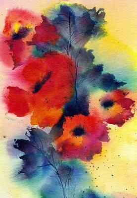 Spring Quartet Poster by Anne Duke
