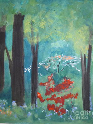 Poster featuring the painting Spring by Sandy McIntire