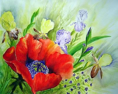 Spring Splendor Poster by Joanne Smoley
