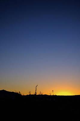 Spring Sunset Fort Mohave Az Poster