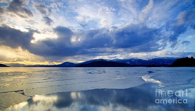 Spring Thaw On Pend Oreille Poster