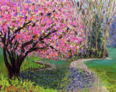 Spring Tree At New Pond Farm Poster