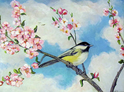 Poster featuring the painting Spring's Promise by Donna Tucker