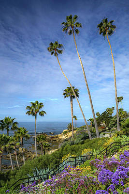 Poster featuring the photograph Springtime At Heisler Park by Cliff Wassmann
