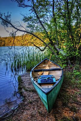 Springtime Canoe Poster