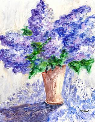 Springtime Fragrance Poster by Marsha Elliott