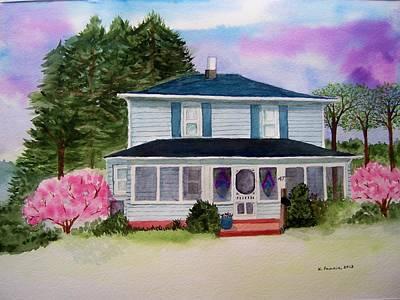 Springtime In Ohio Poster by B Kathleen Fannin
