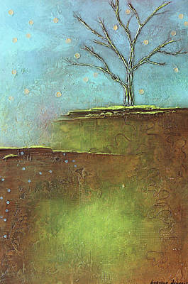 Springtime Leafless Tree Poster by Heather Haymart