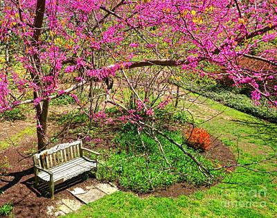 Springtime Retreat  Poster