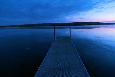 Springbrook Lake At Dawn Poster