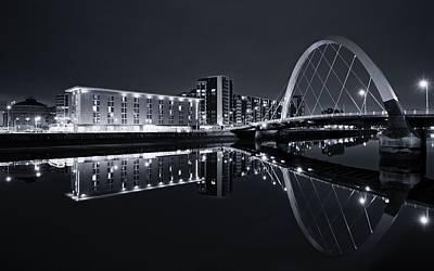 Squinty Bridge Glasgow Poster