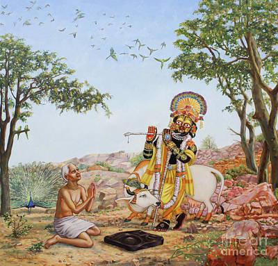 Sri Damodar Gifts Sanatana Poster by Dominique Amendola