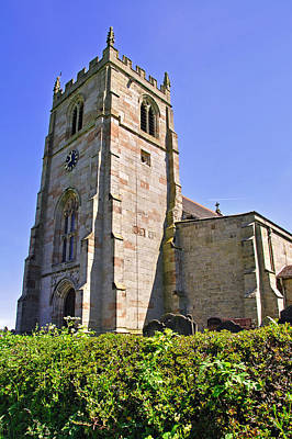 St Andrew's Church At Cubley In Derbyshire Poster by Rod Johnson