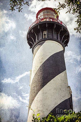 Poster featuring the photograph St. Augustine Lighthouse by Todd Blanchard
