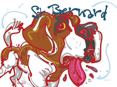 St. Bernard Poster
