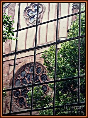 St Boniface Church In Reflection  Poster by Sarah Loft