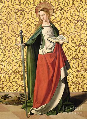 St. Catherine Of Alexandria Poster