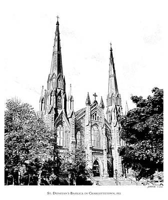 St Dunstans Basilica Poster by Greg Joens