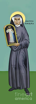 St. Faustina Kowalska - Rlfak Poster
