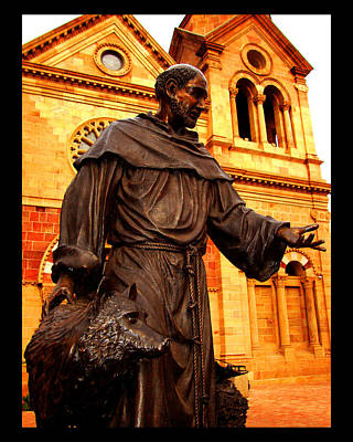 Cathedral Basilica Of St. Francis Of Assisi Poster by Susanne Still