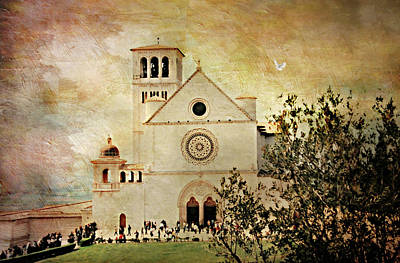 St. Francis Of Assisi Italy Poster by Diana Angstadt