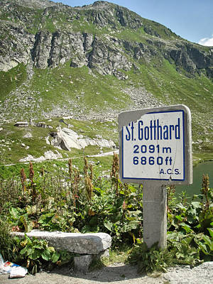 St. Gotthard Poster by PN Mayes