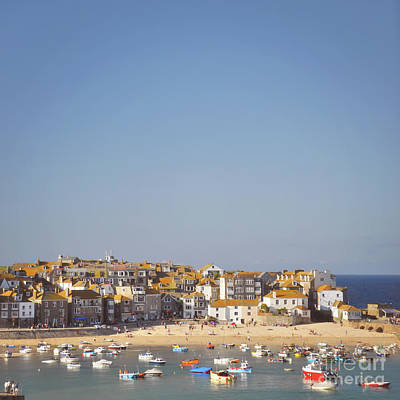 Poster featuring the photograph St Ives Harbour by Lyn Randle