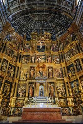 St Jerome Monastery Interior Poster