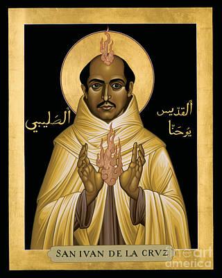 St. John Of The Cross - Rljdc Poster by Br Robert Lentz OFM