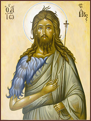 St John The Forerunner Poster