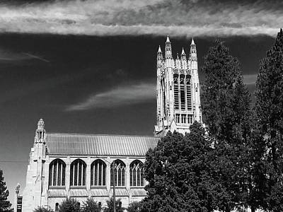Poster featuring the photograph St. John's Cathedral Spokane by Pacific Northwest Imagery