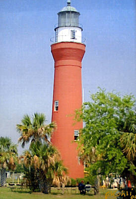 Poster featuring the photograph St Johns River Lighthouse by Frederic Kohli