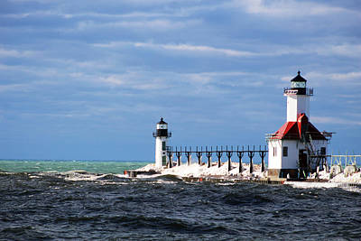 St. Joseph Lighthouse - Michigan Poster