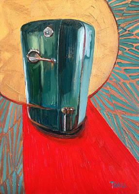 St. Kelvinator Poster by Jennie Traill Schaeffer