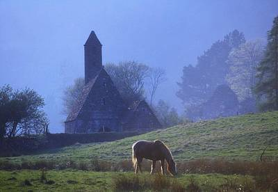 St. Kevins Kitchen, Glendalough, County Poster by The Irish Image Collection