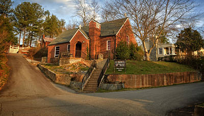 St Marks Episcopal Church Copperhill Tennessee Poster