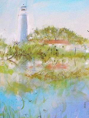 St Marks Lighthouse Poster